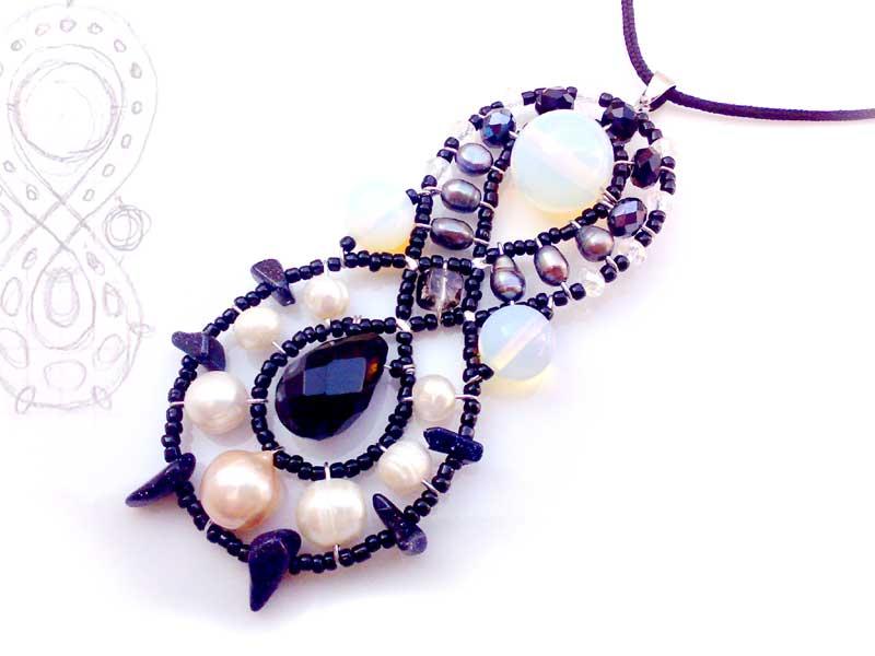 Galaxy Rococo - pendant