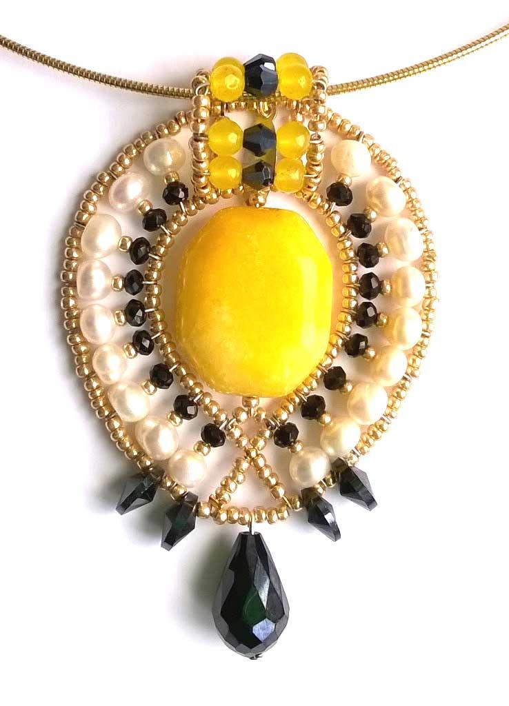 Lemon Leaf Chamomille - pendant