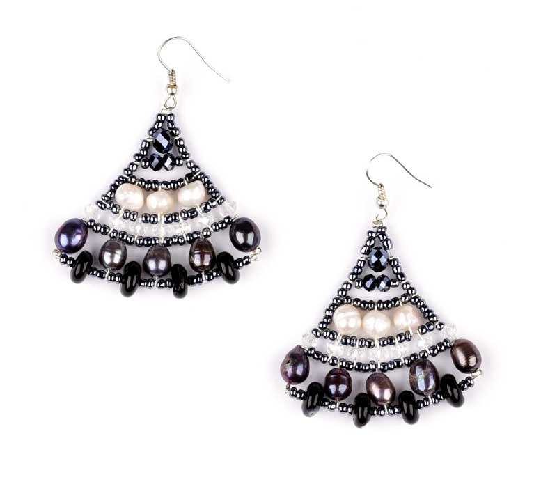 Mermaid Rococo - earrings