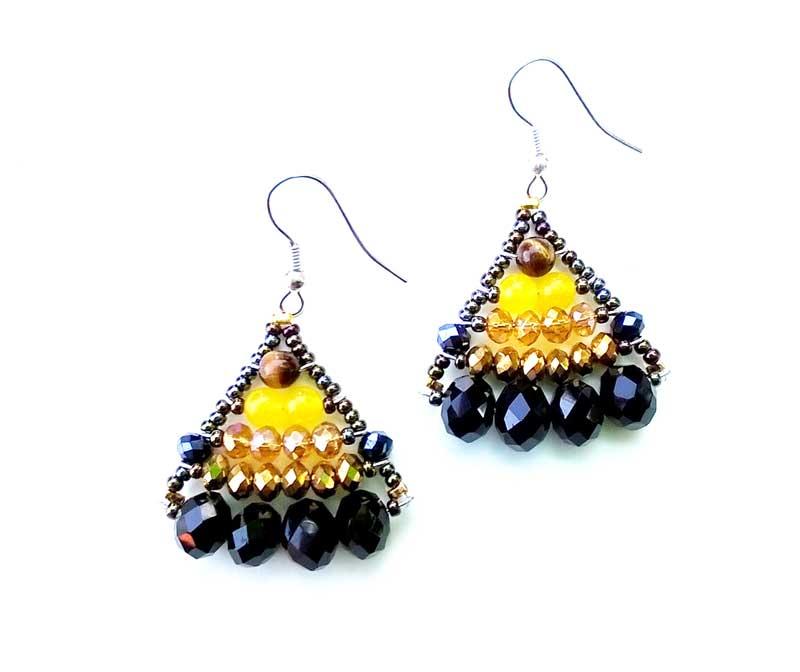 Little Mermaid Savannah Sunset - earrings