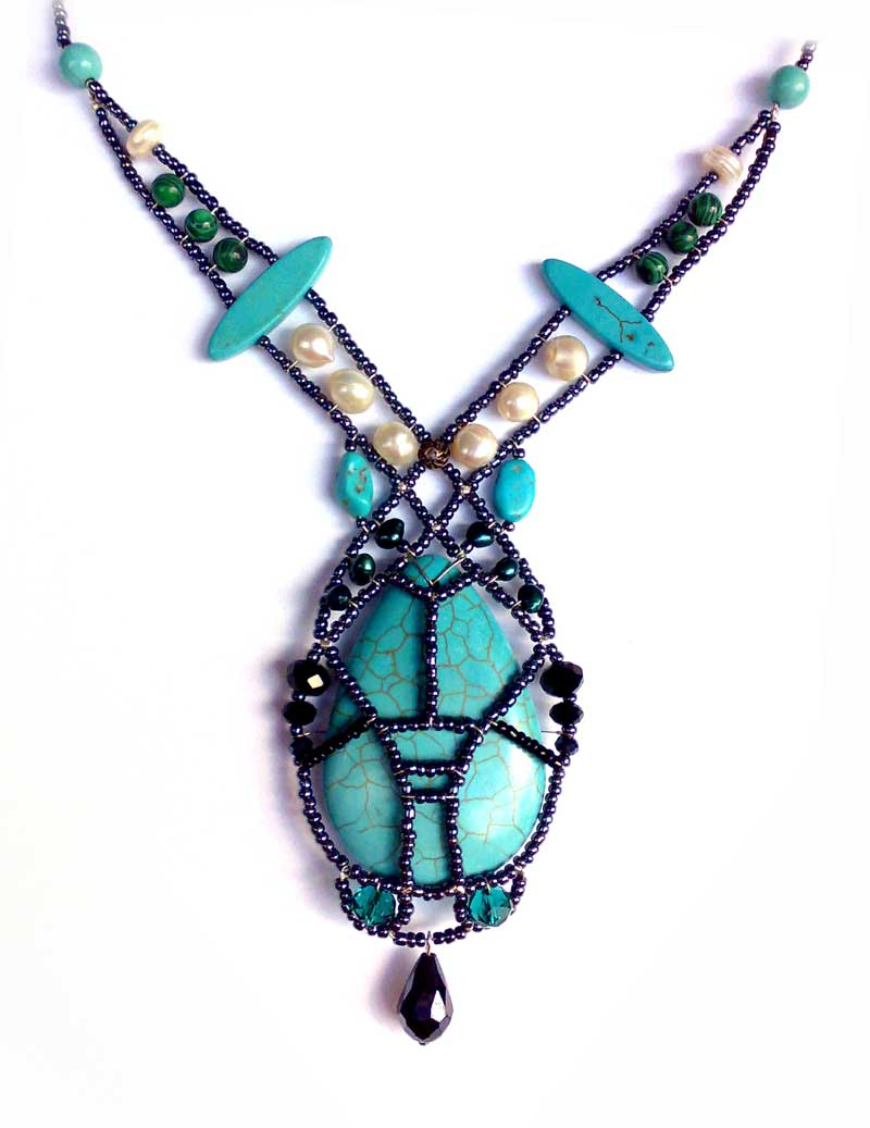Osiris Turquoise & Pearl