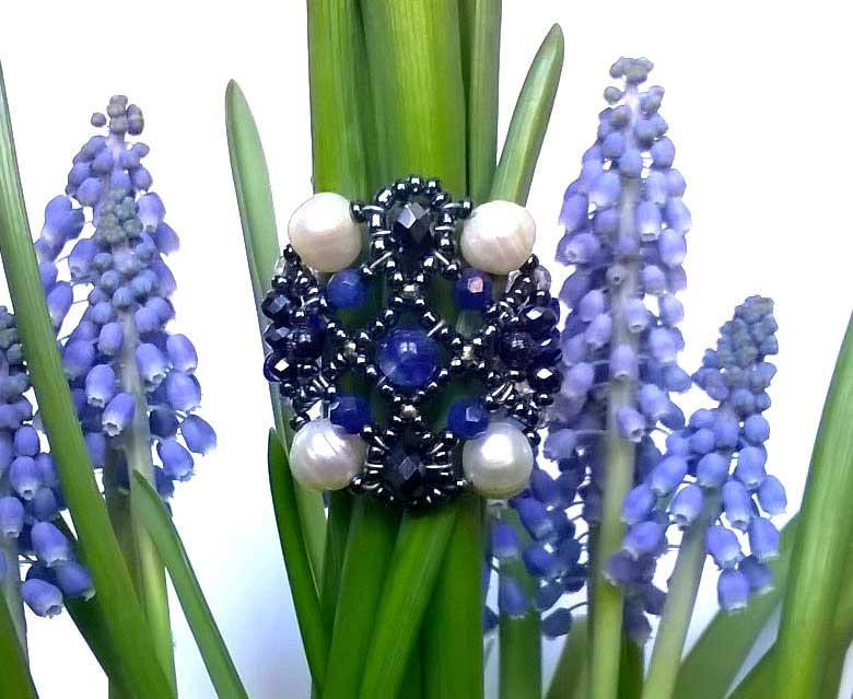 Sheherezade Sapphire - ring