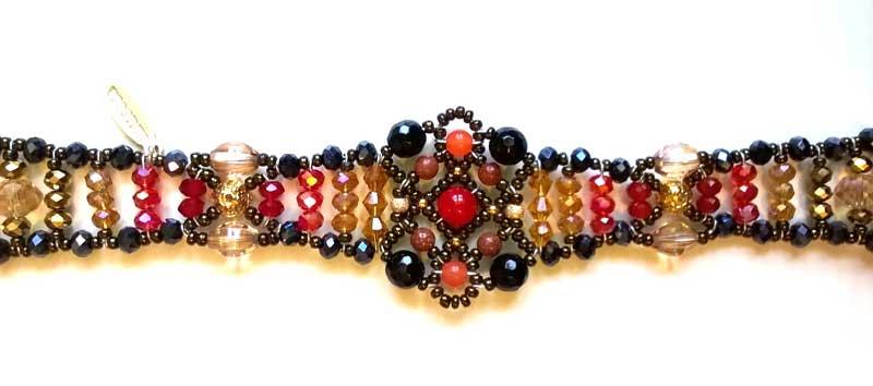 Sheherezade Fire Agate - bracelet
