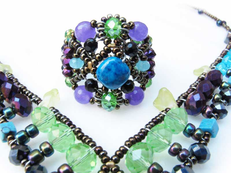 Sheherezade Purple - ring