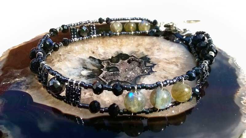 Connect-Diamond & Labradorite
