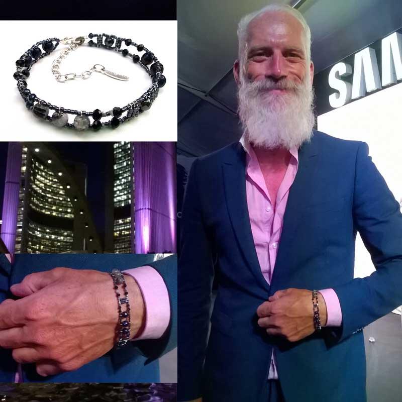 Paul Mason , iconic top model #FashionSanta. Canada