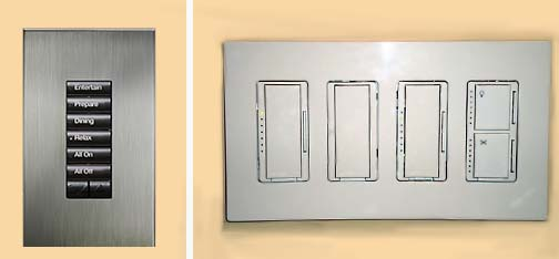 Keypad vs Dimmers Wall Acne Decor NY