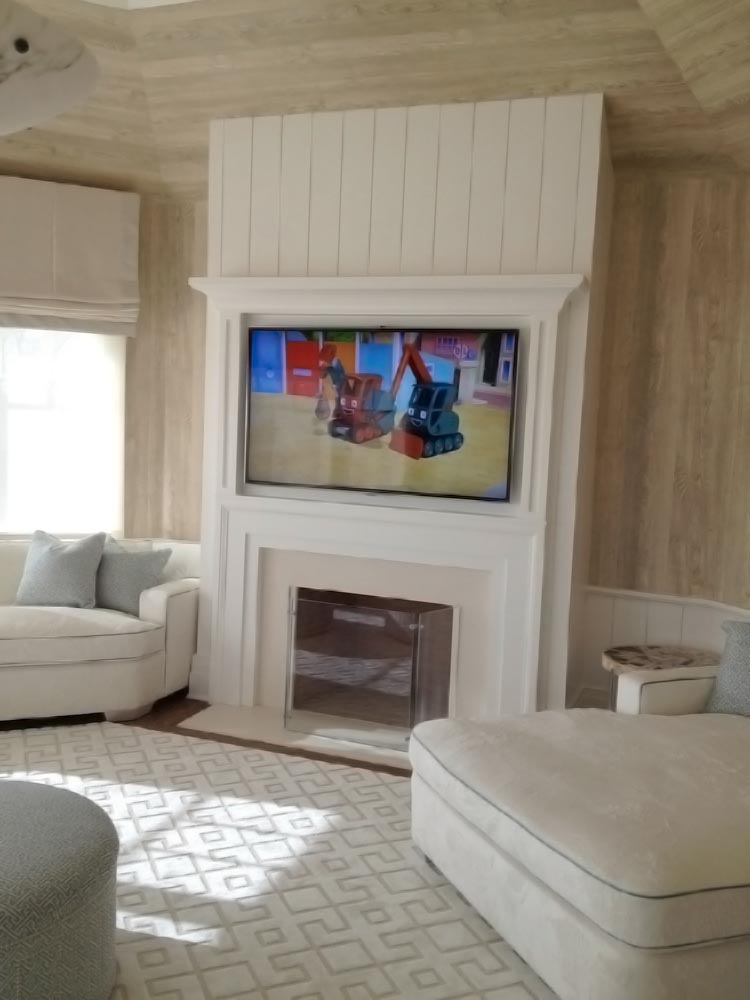 Recessed TV Fire Place White Wood.jpg