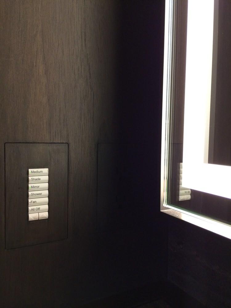 Trufig Dark Wood Keypad Lights Sahdes Scenes.JPG