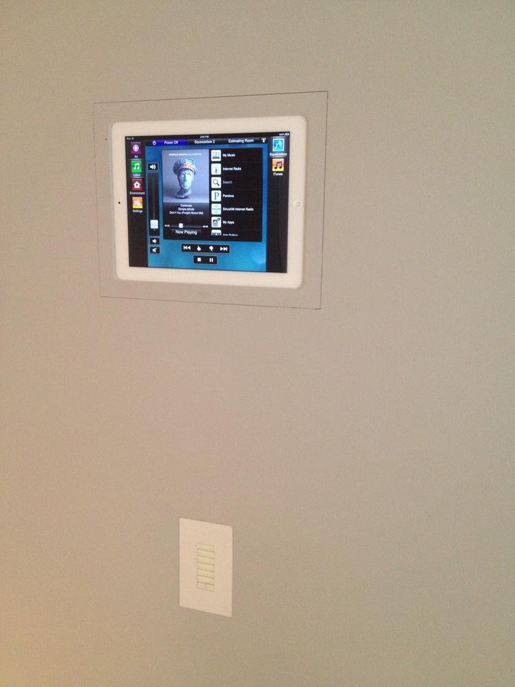 Trufig Touch Pannel iPad Keypad Home Automation Savant NY.JPG