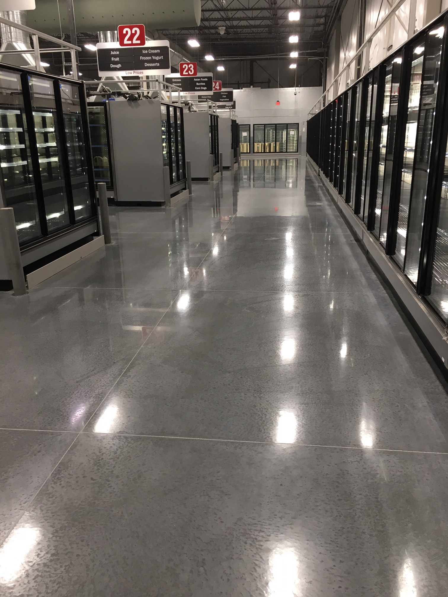 Grocery Store Floors After
