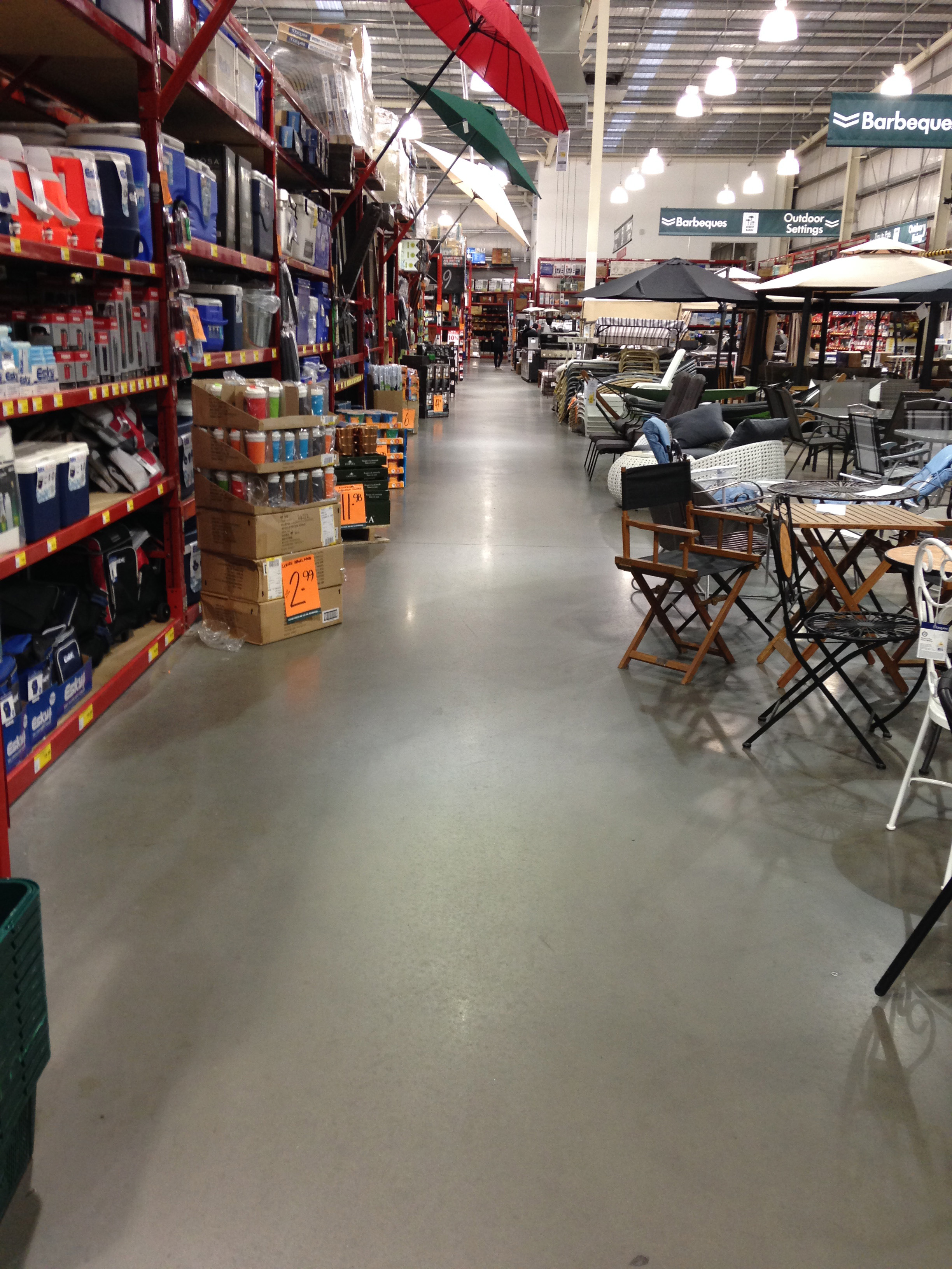 Home Supply Store Before
