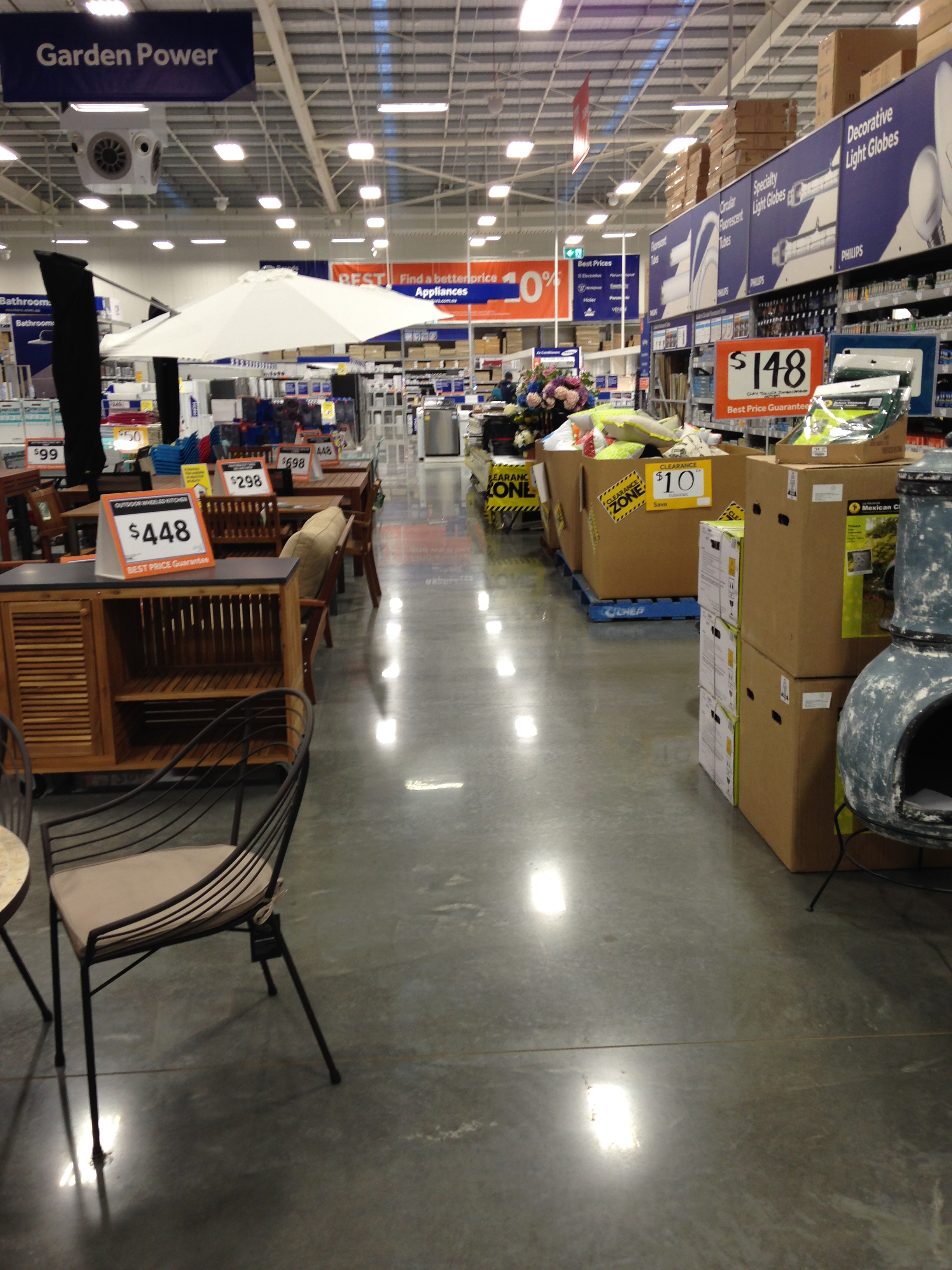 Home Supply Store After