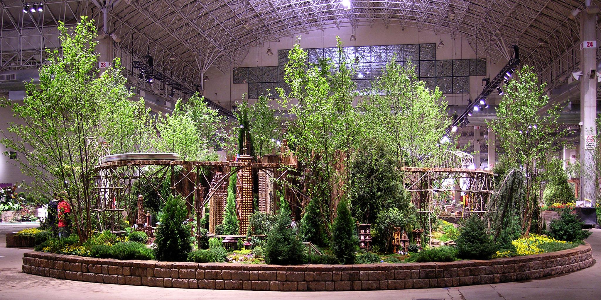Chicago Flower Garden Show Applied Imagination Ltd