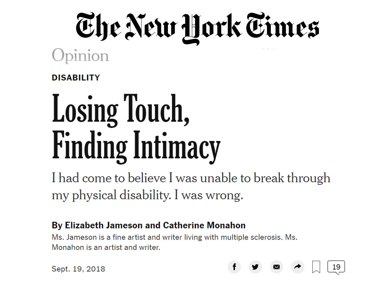 New York Times; September 2018