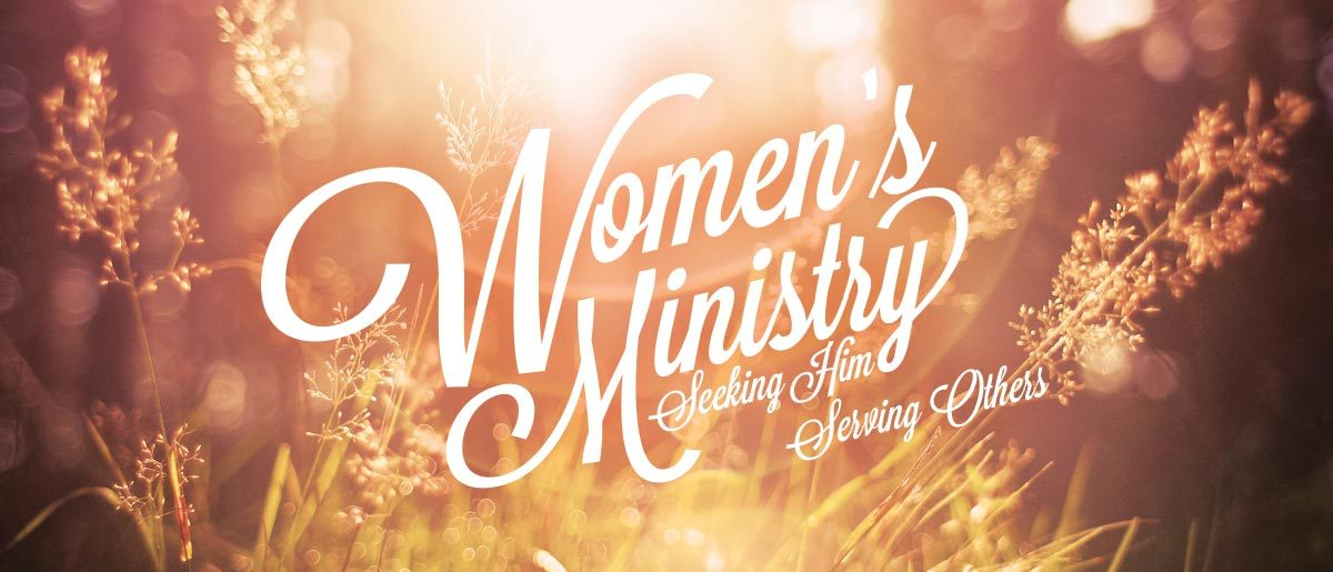 The desire of the Church Women's Ministry is to strengthen and equip women with God's Word, so that they can grow in their relationship with the Lord. This will enable ladies to be a godly influence in their homes, workplace and to each other.