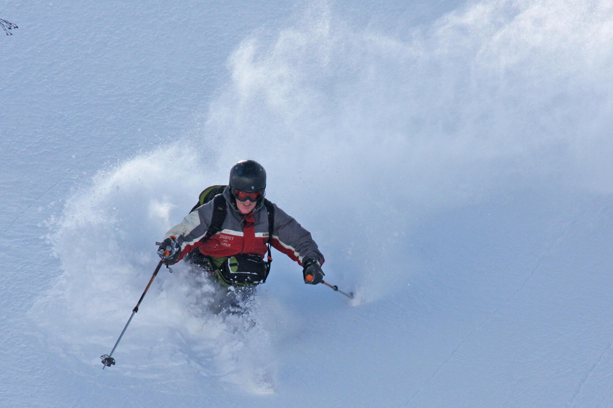 Backcountry Skiing Tokachi Mountains