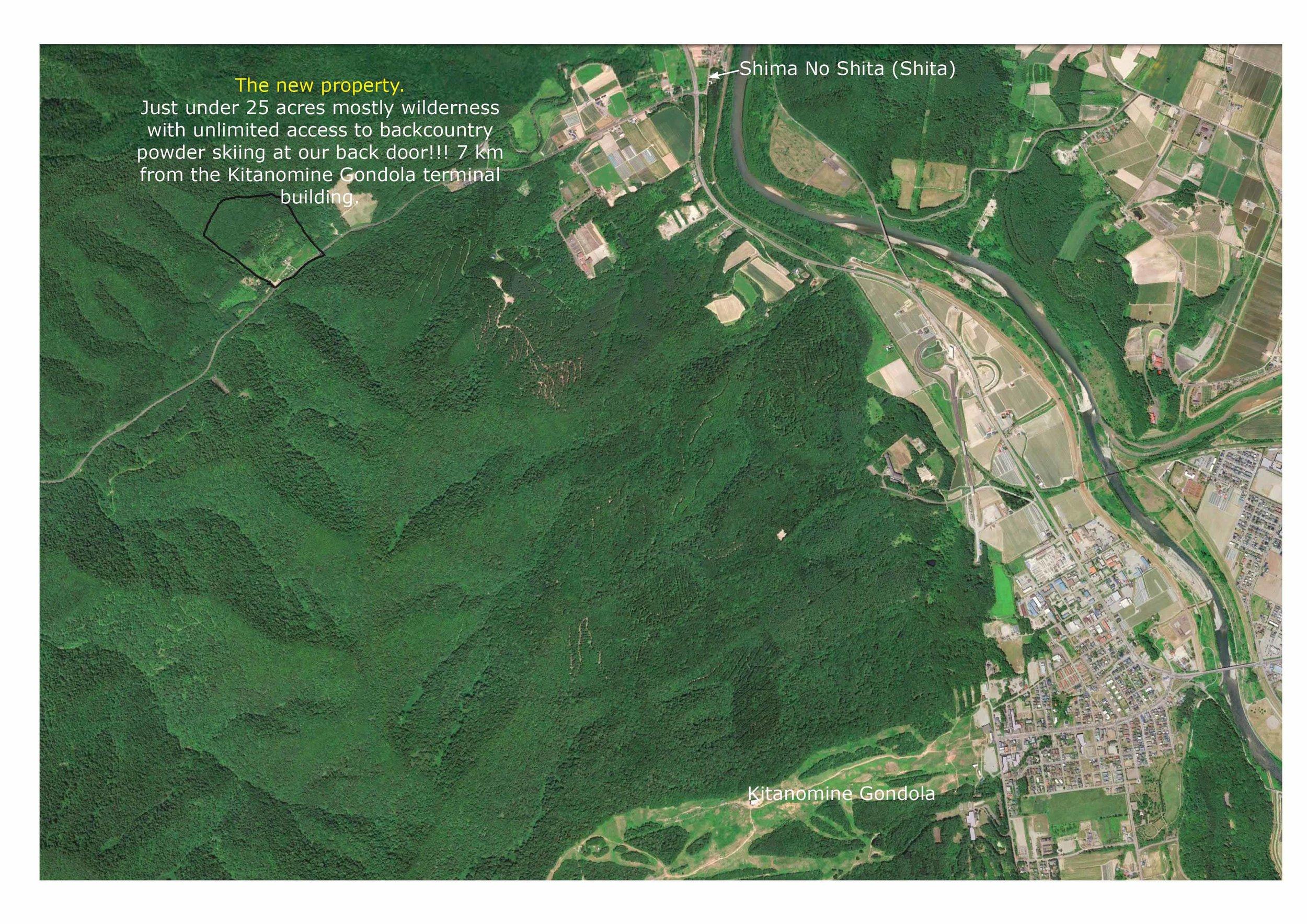 Bear Creek Backcountry Location