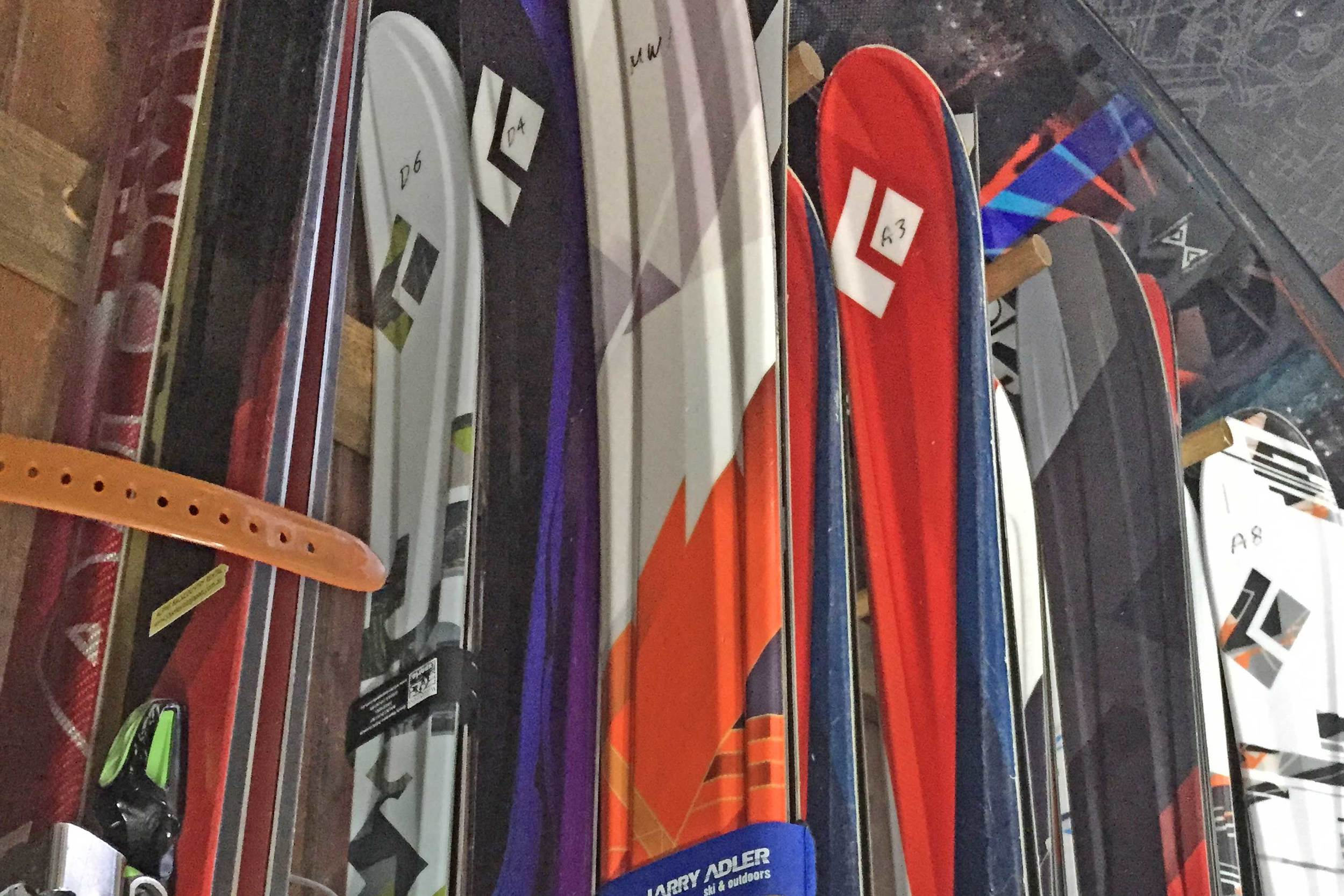 Powder Skis & Telemark Bindings