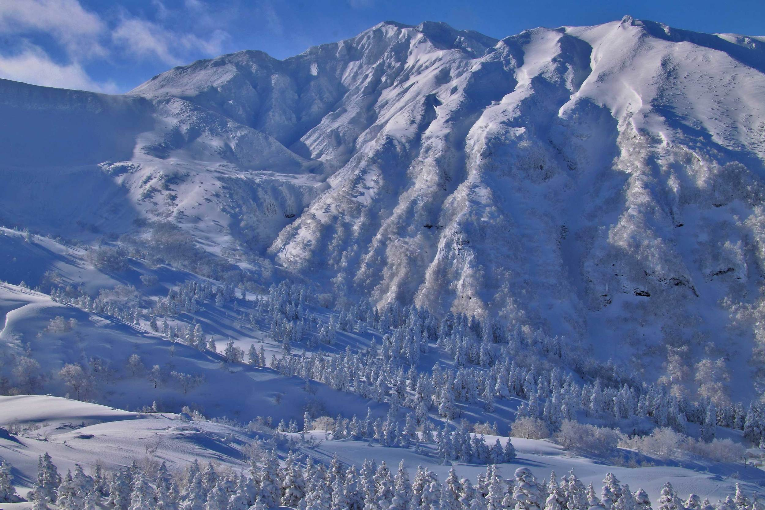Furano Dake, Tokachi Mountains.