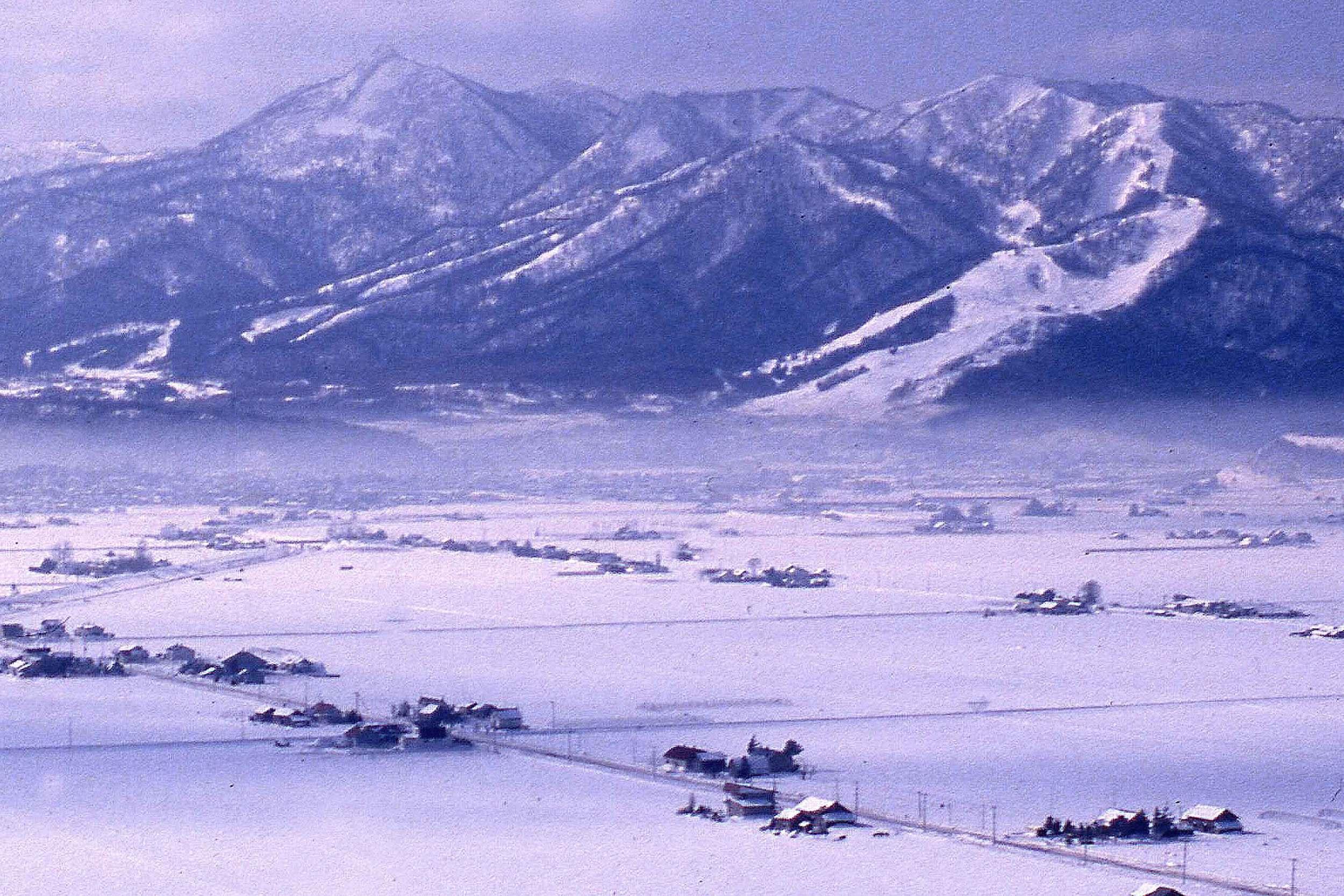 Furano Resort & The Yubari Range.