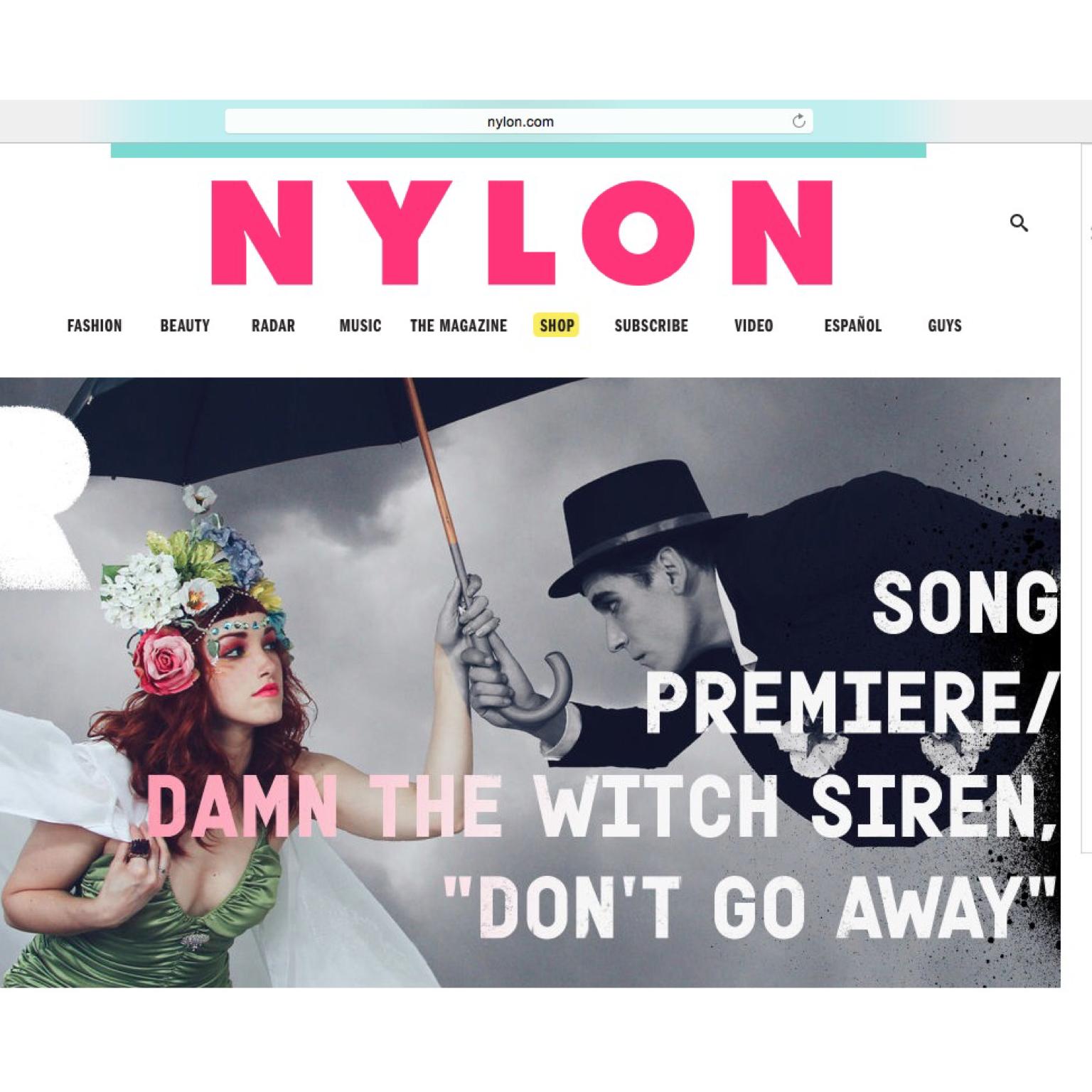 """NYLON- """"Don't Go Away"""""""