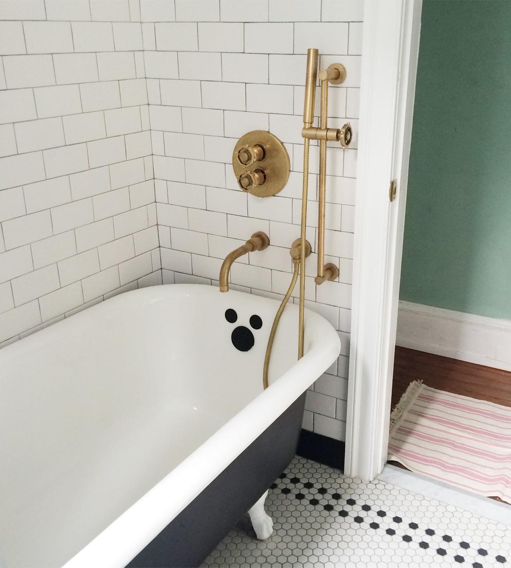 bathroom renovation Kendra Lebo
