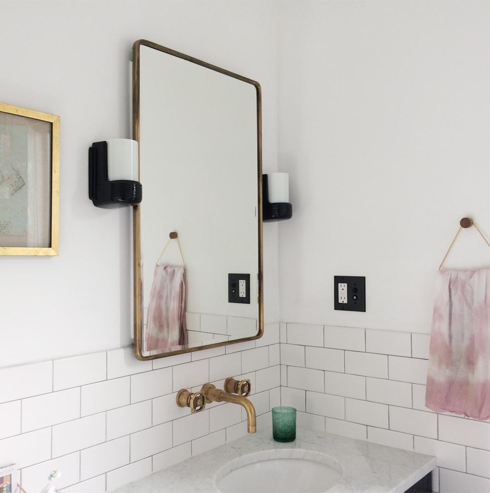 Bathroom renovation Flora Poste Studio