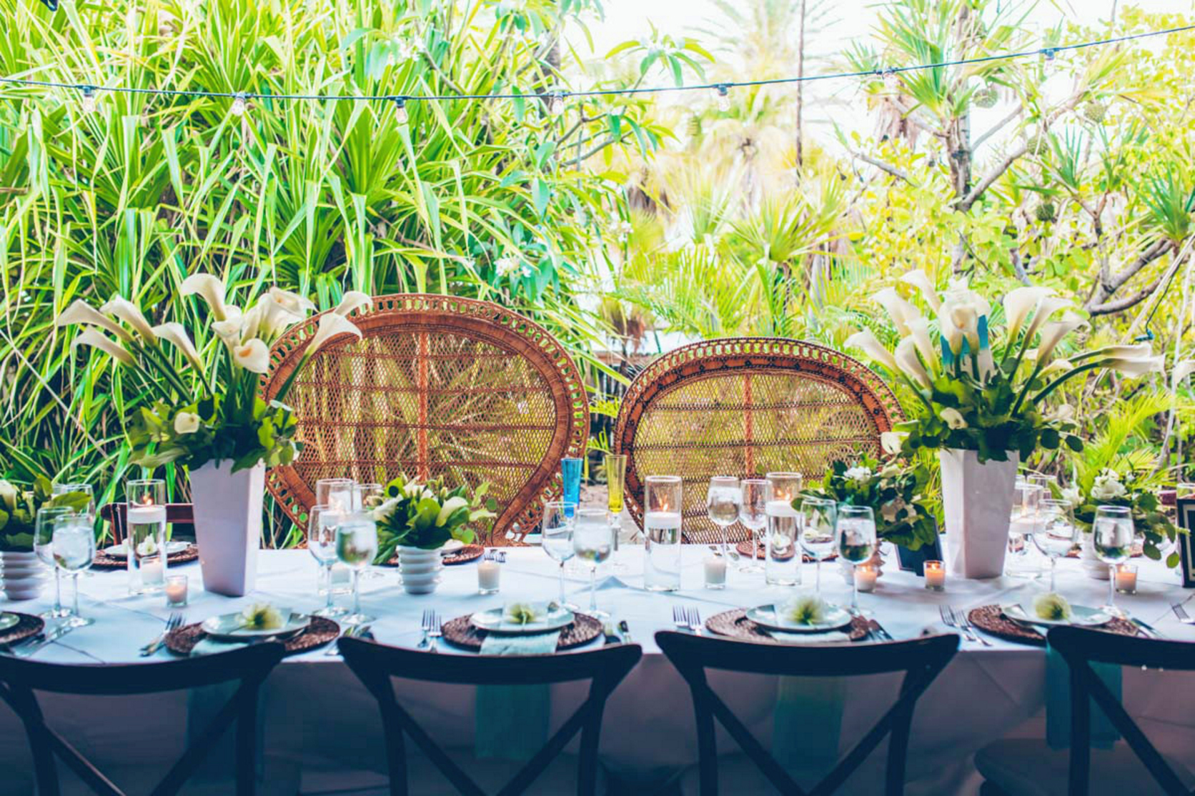 table setting Flora Poste Studio/photo by Luiza Ferraz