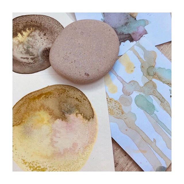 So excited to be heading to Ojai, CA, in September to help teach a workshop with @craveworkshops. We will be working with paints and dyes made from foraged natural materials by @cherpeace_ as well as some other fun dye projects. So excited! Visit @craveworkshops for more info or to sign up. 📷 @craveworkshops