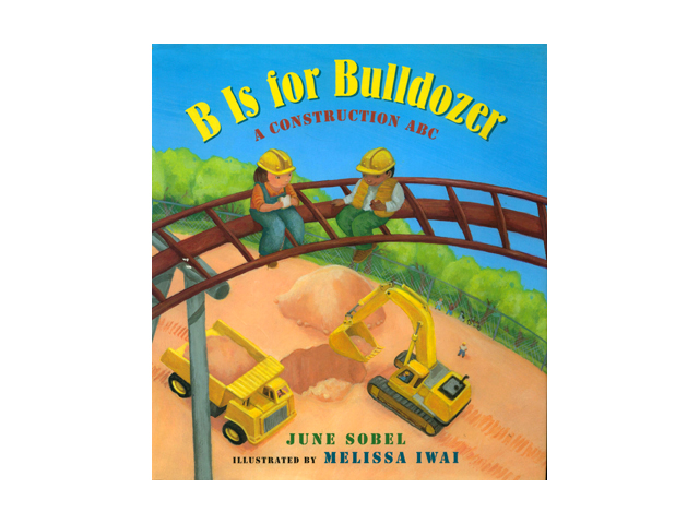 """B is for Bulldozer  """"..Iwai's two-page spreads reveal her talent for painting people as well as details of vehicles and with creamy oils she also subtly depicts the changing seasons. From Asphalt to Zoom, the first-rate read-aloud will delight its audience."""" Kirkus Reviews  """"Illustrator Melissa Iwai complements the simple rhyming text with soft, vibrant acrylic colors. This concept alphabet book has text and illustrations that flow well, from the asphalt being poured to the zooming of happy children on the completed roller coaster ride."""" Christian Library Journal  """"Colorful, exciting, and educational…"""" Children's Literature    HMH Books for Young Readers ; Board book edition 2013    ISBN-10: 0544108086"""