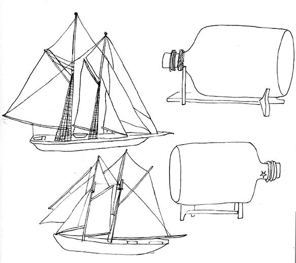 Some ship sketches