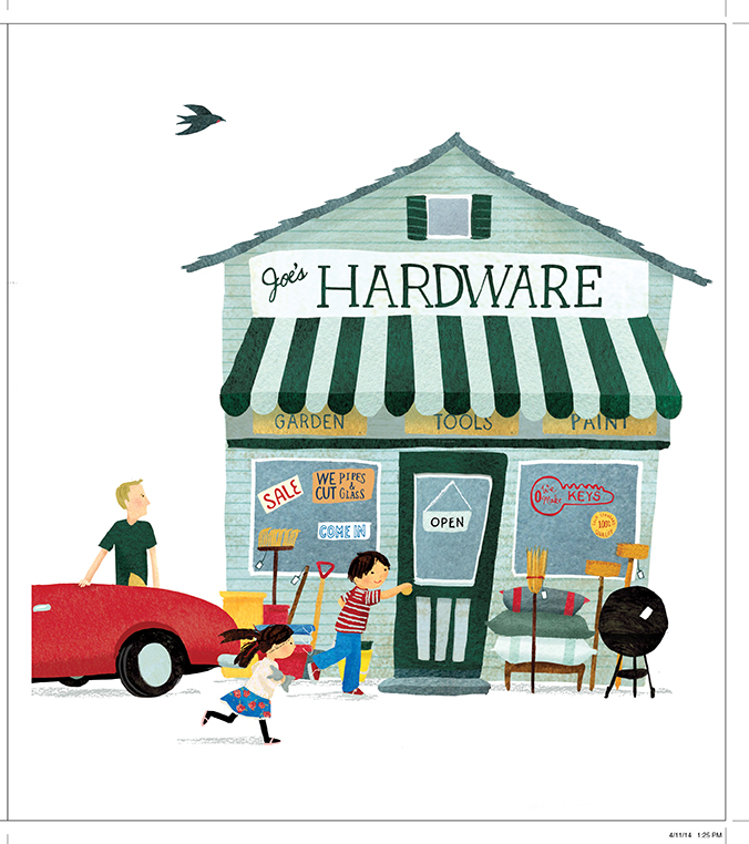 From Let's Go to the Hardware Store