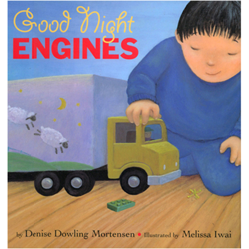 Good Night Engines  by  Denise Dowling Mortensen  was the third book I ever illustrated.