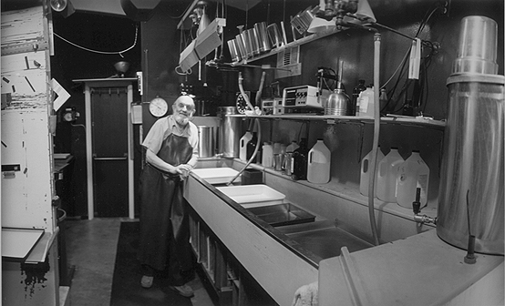 Ansel Adams in the Dark Room