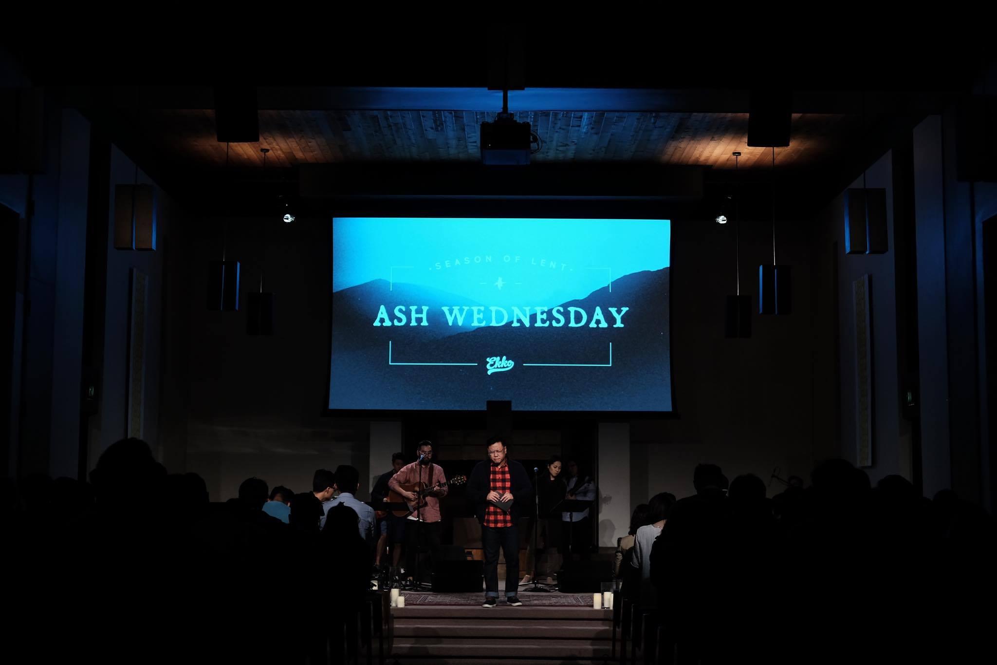 Ekko's Ash Wednesday Service @ Biola's Calvary Chapel |2016