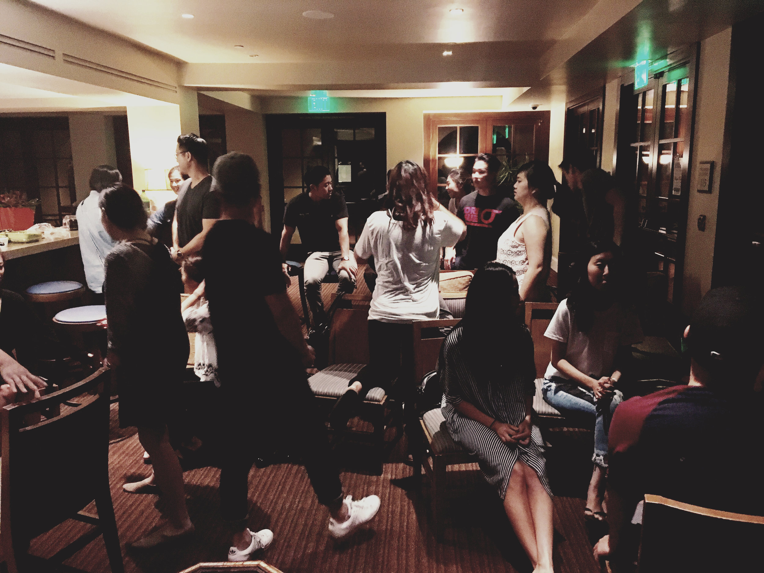 Pastor TJ, Sung, and I got to visit the Irvine Ekklesia (Regional) Gathering in August.