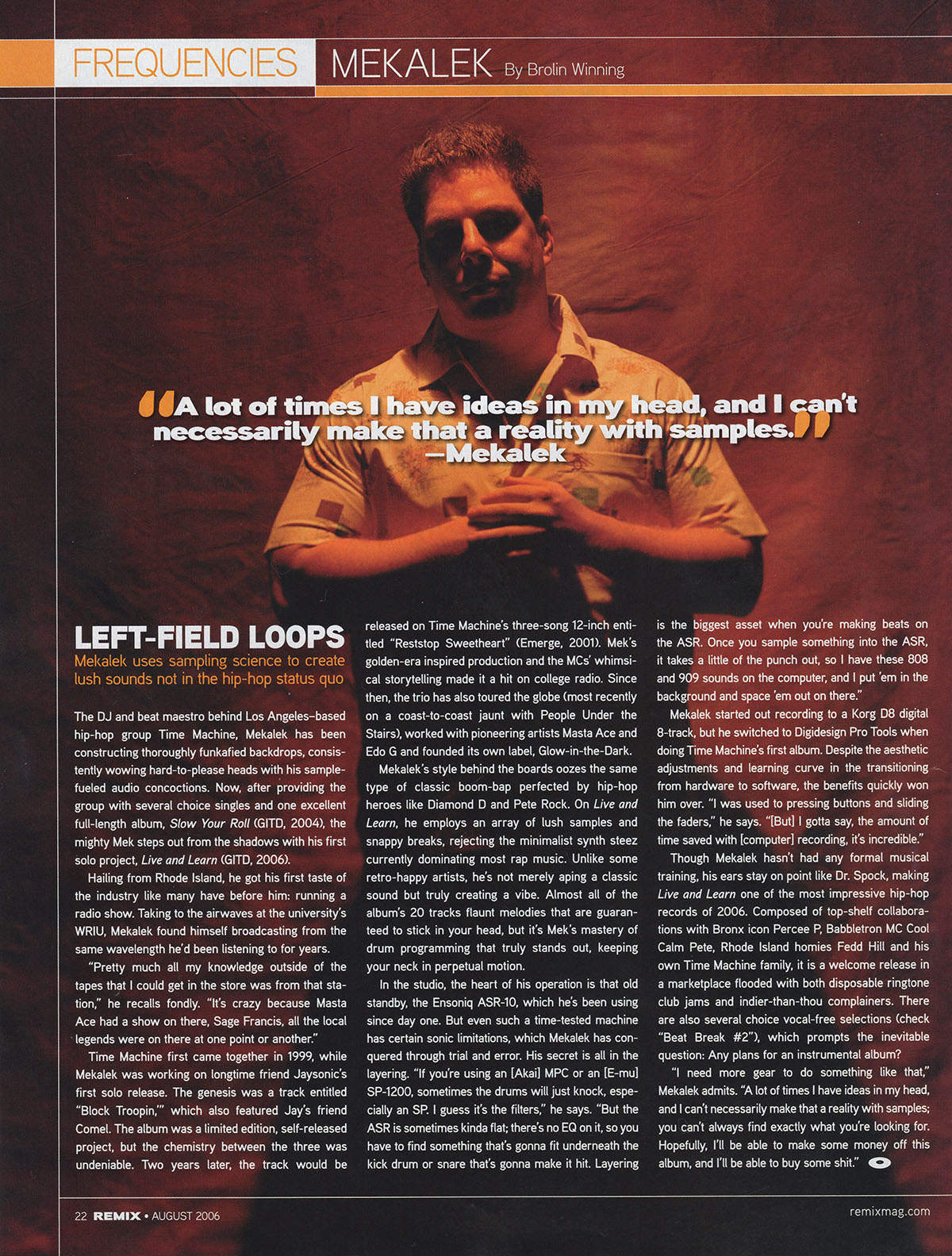 Remix Magazine
