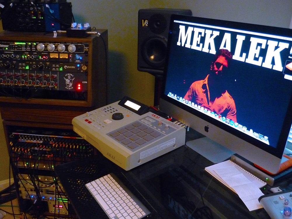 Matt's current studio.