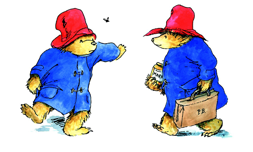 Original illustrations by Peggy Fortnum, on which Shirley Clarkson based the Gabrielle Designs bears.