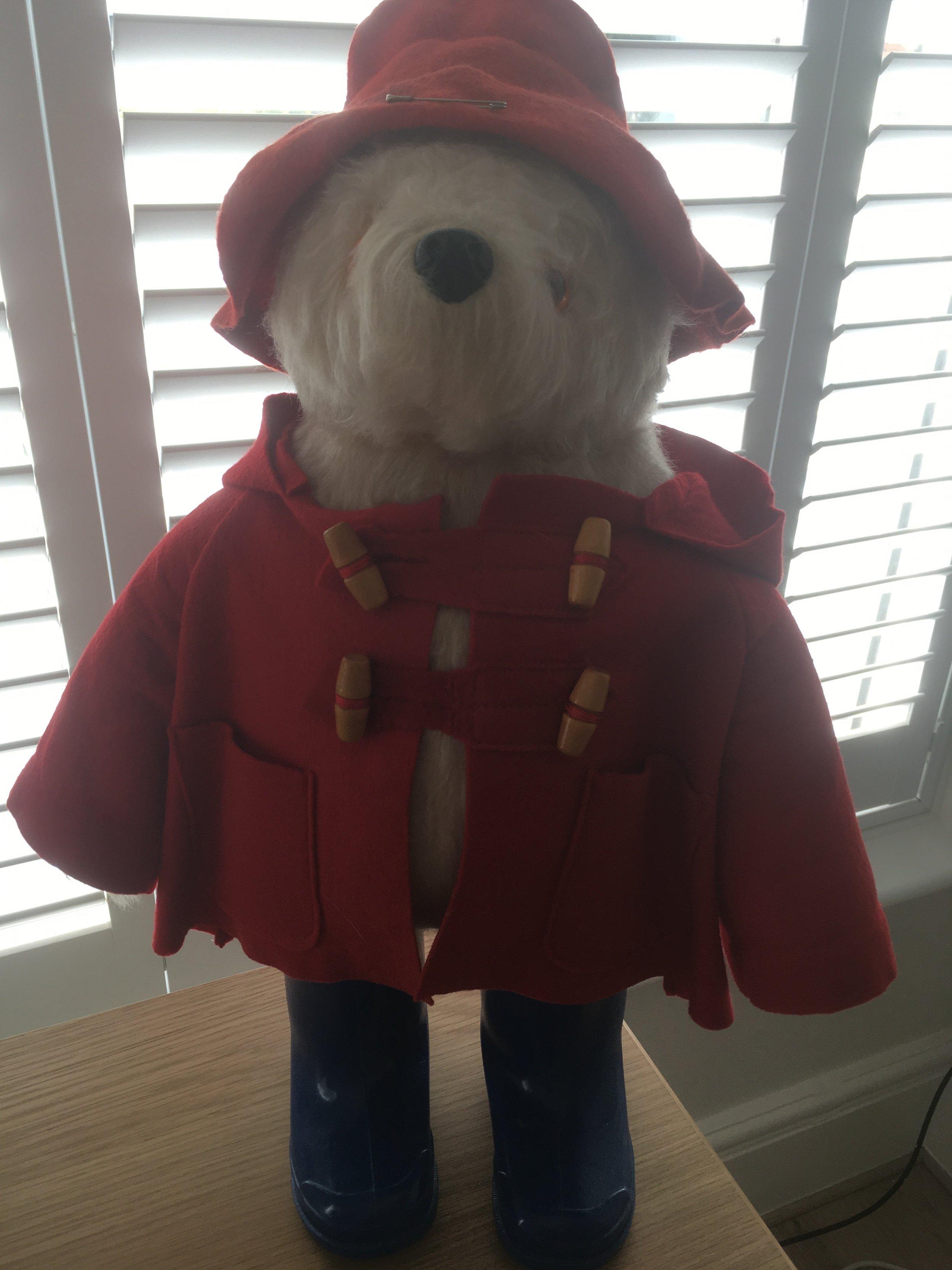 New HAT/&COAT for YOUR Gabriele BEANIE Paddington Bear