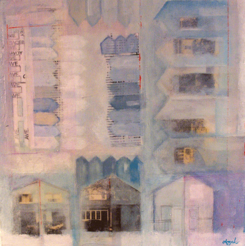 "Anne-Marie Olczak, Eastern Corner 10"" x 10""  contact me"