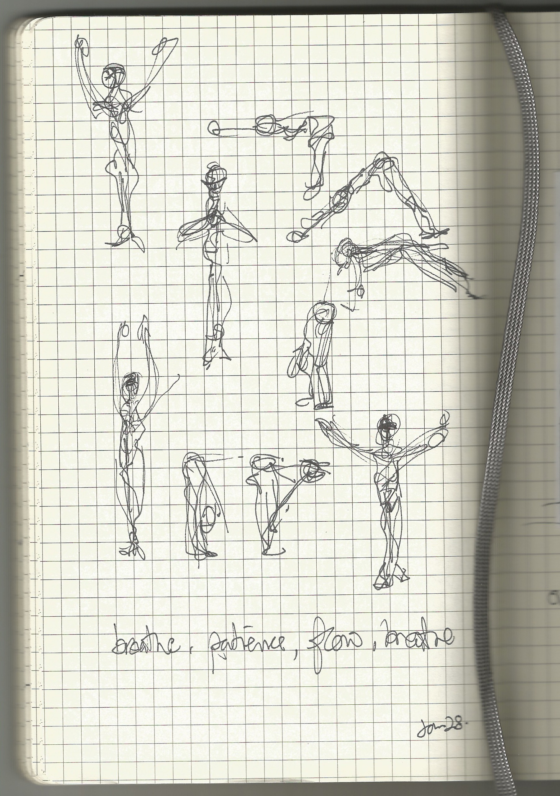 stretch sketch