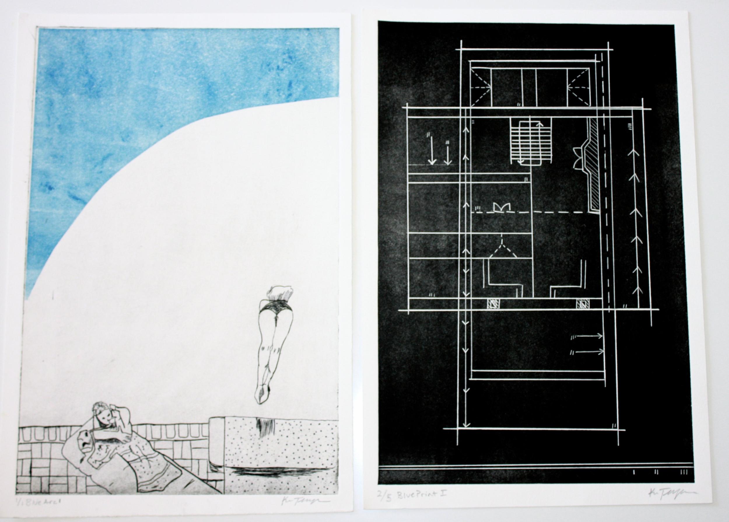 Blue Arc I. and Blue Print I.