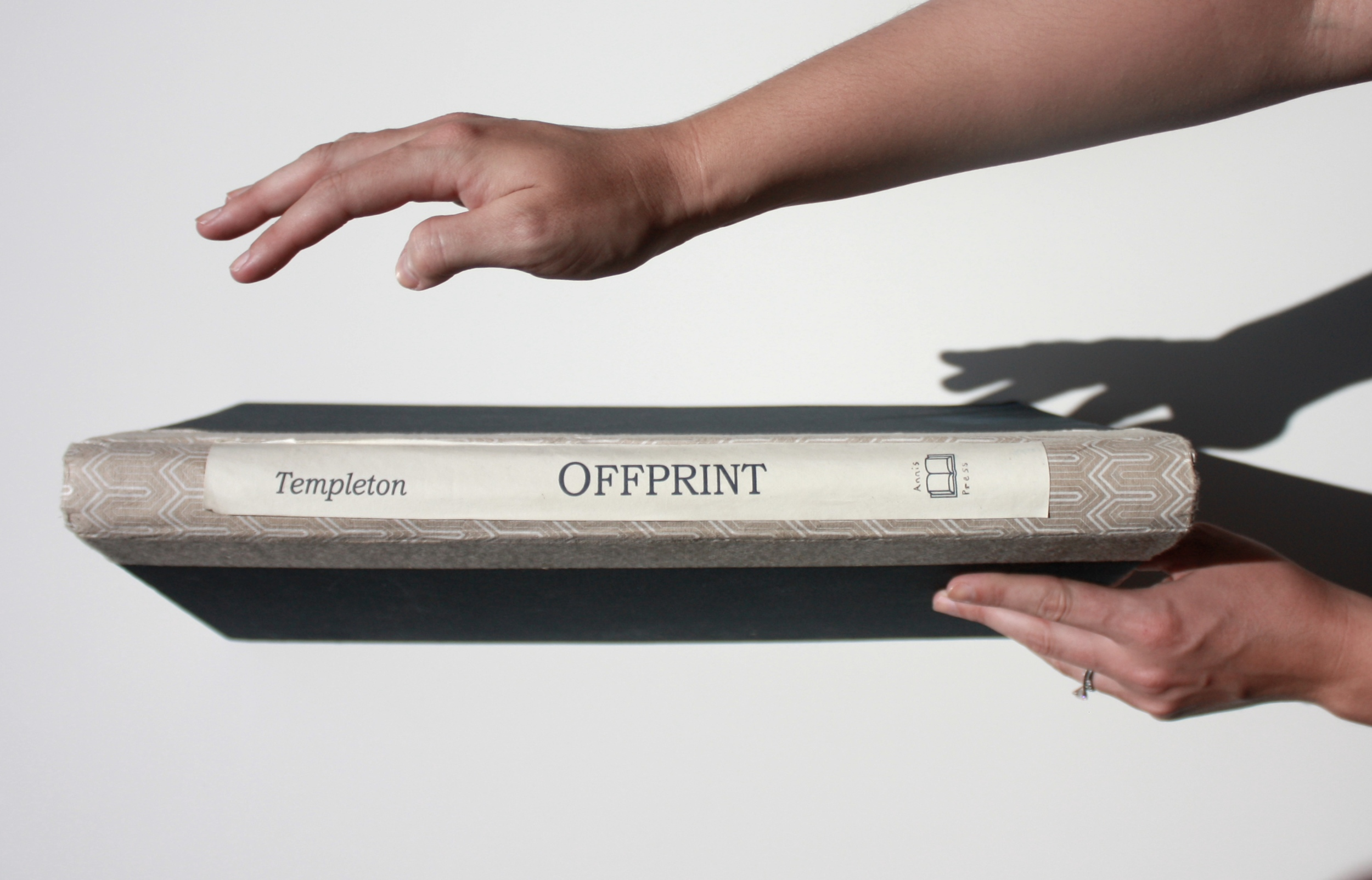 Offprint Artist Book by Kara Templeton