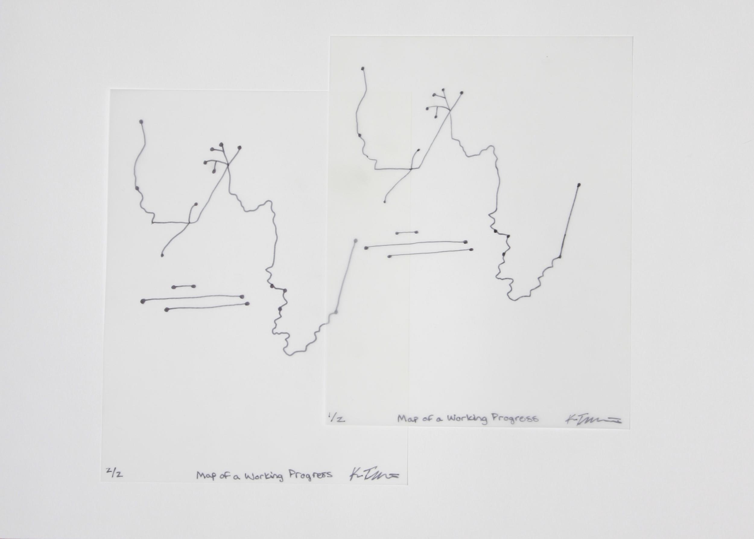 Map of a Working Progress by Kara Templeton