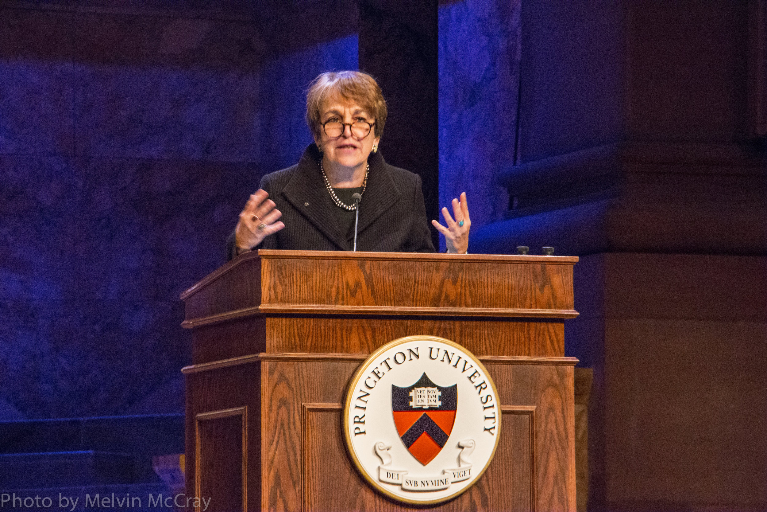 Martha Sanwiess opens Princeton and Slavery Symposium photo by Melvin McCray-3.jpg