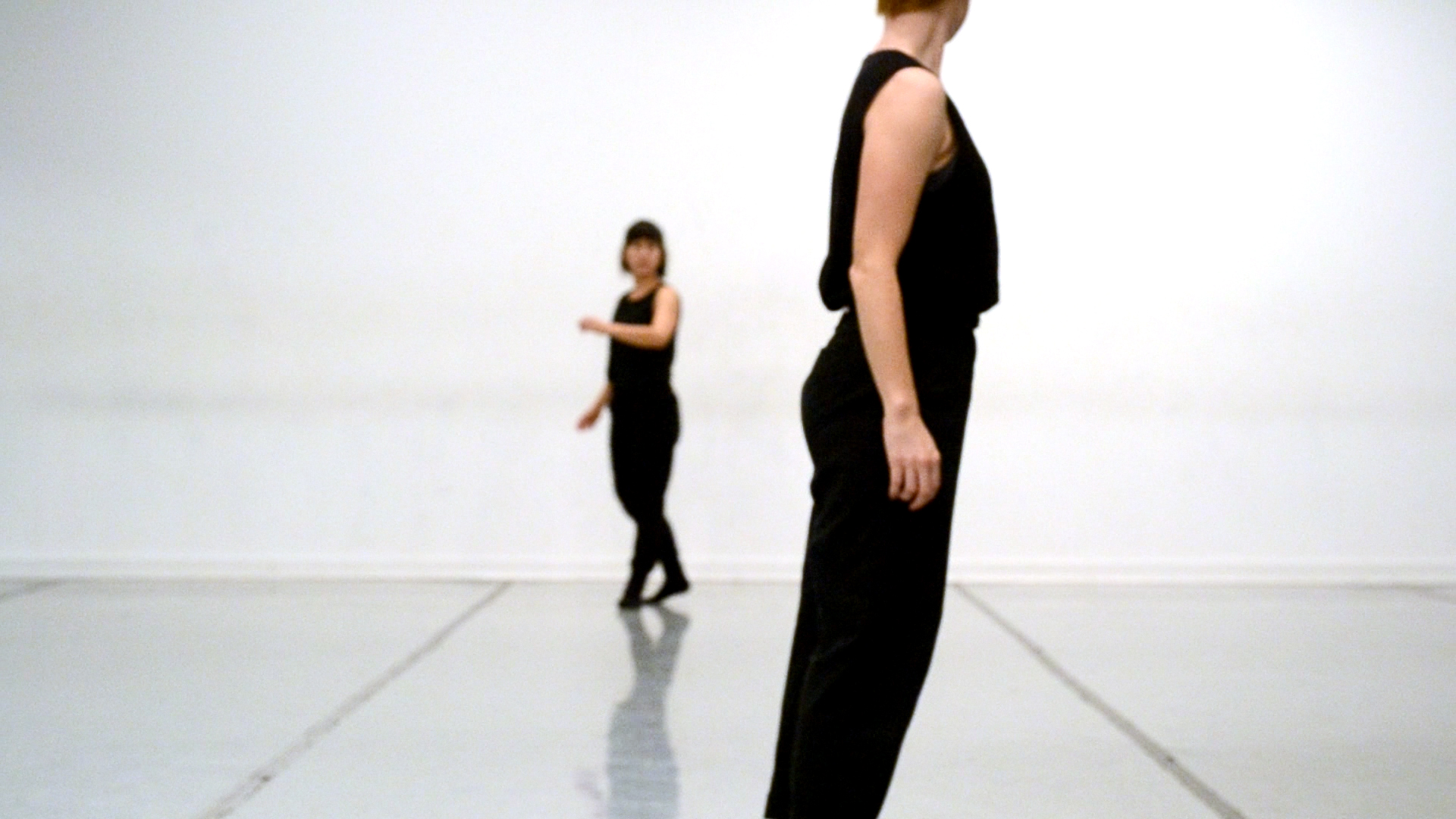 video still,  2014 - 2015   Left to Right: Jane Sato and Meg Weeks