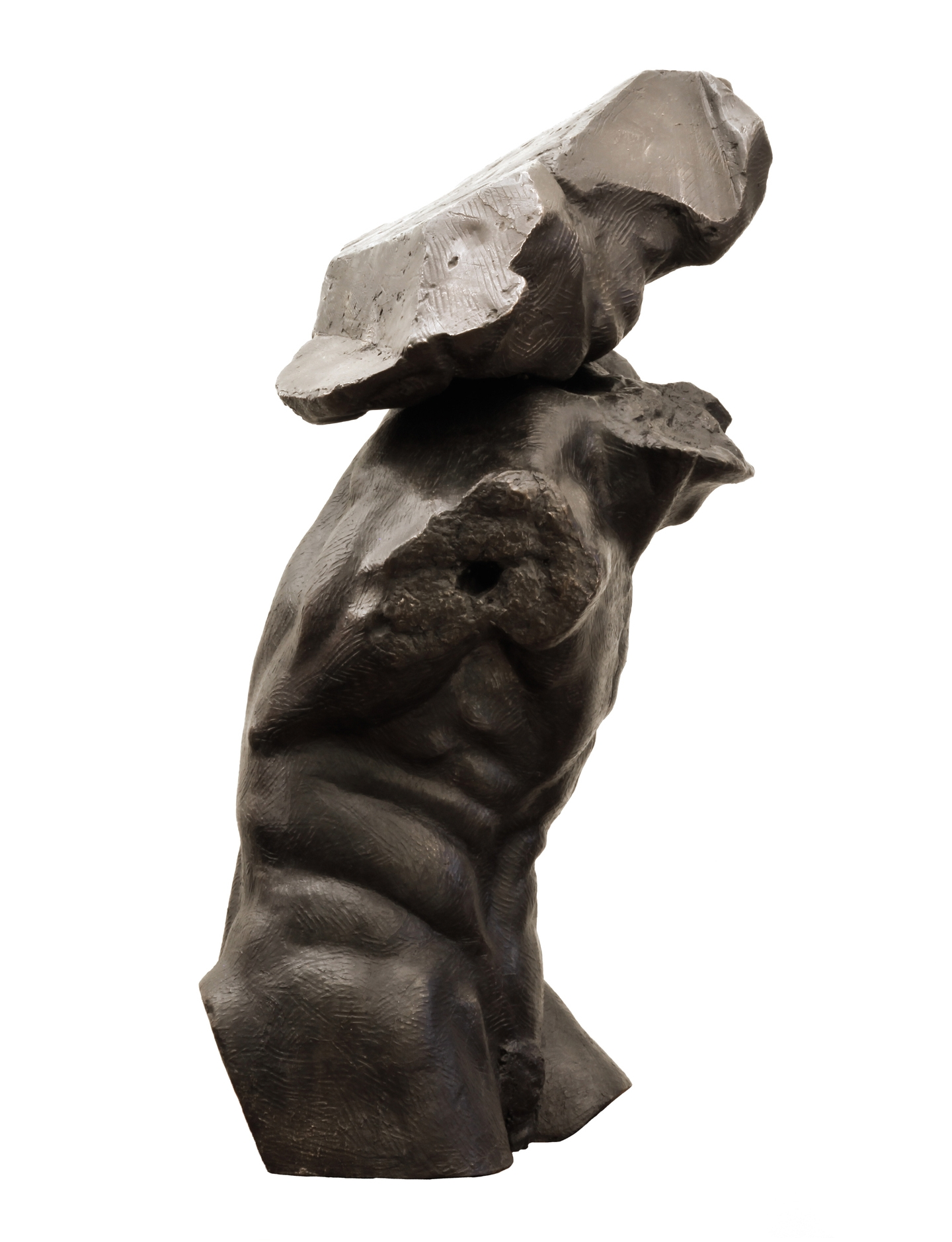 Sisyphus  , 2013, Bronze, Limited Edition of 7, 33 x 14 x 13 inches