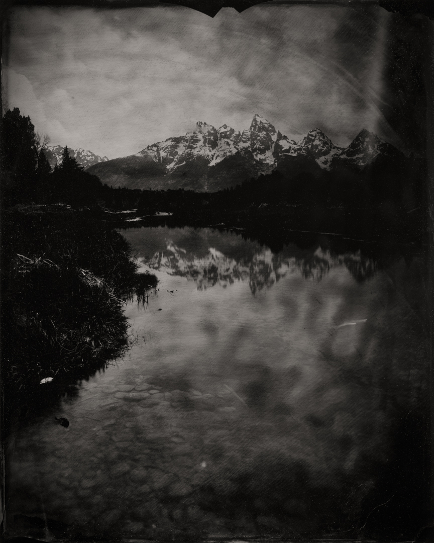 Grand Tetons (Schwabacher Landing) #1 , 2019  Pigment print on Baryta paper  42 x 52.5 inches  Edition of 5
